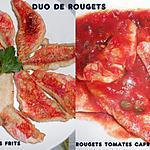 recette DUO DE FILETS DE ROUGETS
