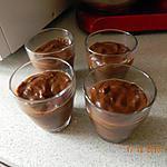 recette Crèmes chocolat au lait de noisettes