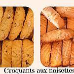 recette CROQUANTS AUX AMANDES ou AUX NOISETTES