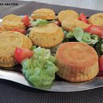 recette Muffins de légumes