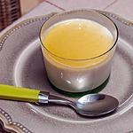 recette panna cotta au sirop de clémentines