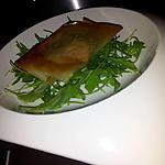 recette Croustillant de foie-gras et confiture d'oignons