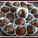 recette Truffes choco/cannelle