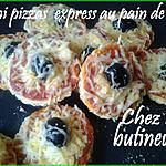 recette Mini pizzas express au pain de mie