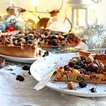 recette Tarte végétarienne aux marrons, champignons, potiron & cranberries