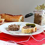 recette Pâté végétal : tofu fumé, lentilles vertes, champignons et châtaignes