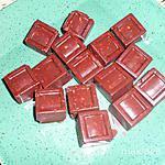 recette Mes premiers chocolats maison aux noisettes,recette de Carmen