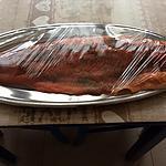 recette saumon mariné au sel de guérande et au sucre