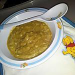recette Purée de légumes vert et boulgour *Pour Bébé*et maman