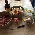 recette rognons de porc à la crème et champignons