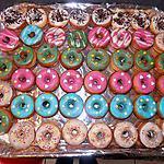 recette Donuts amandes noel
