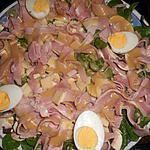 recette Salade de mache à la parisienne