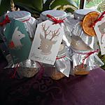 recette Cadeaux de Noêl maison: sels aromatisés