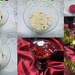 recette coupes vacherin.vanille/framboise.