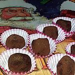 recette Truffes au chocolat et a la crème de marron