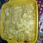 recette Gratin de pomme de terre à la brêmoise