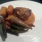 recette Filets d'autruche à la moutarde et crème