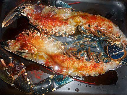 Recette de homard grill au four sauce a l aneth - Recette homard grille ...