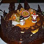 recette BAVAROIS CHOCO MANGUE PASSION