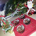 recette Cupcakes *Papa noel ourson* de Noel