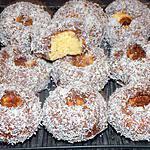 recette Donuts nutella coco