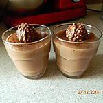 recette Crème aux Ferrero rochers