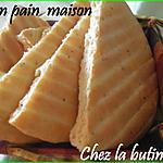 recette Knobs dar (mon pain maison au four)