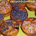 recette Mini clafoutis aux saveurs marines & aux courgettes