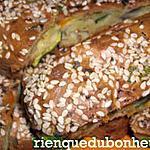 recette Doigts moelleux courgettes, poivrons & oignons rouges
