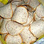 recette TUILES AUX AMANDES avec ou sans gluten,de mon ami Tonton ALEX