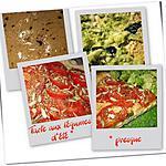 recette Tarte aux légumes d'été * presque