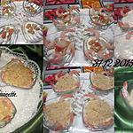 recette Coquilles St Jacques aux crustacés.béchamel.