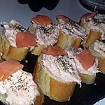 recette Tartinade au saumon kiri