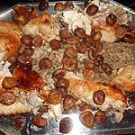 recette Dinde rotie aux marrons