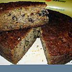 recette Gâteau aux bananes, rhum et raisins