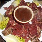 recette Filet de boeuf sauce madére