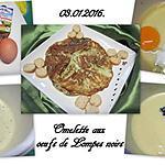 recette Omelette aux œufs de lompe noirs.