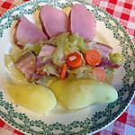 recette Potée de chou pointu au lard et filet pur de porc Ardennais