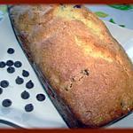 recette Cake aux pepite de chocolat