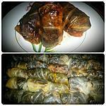 recette Feuilles de chou farcies aux foies de vollaile et riz noir - Sarma ou Sarmale
