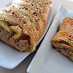 recette Tresse poireaux poulet