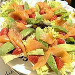 recette Salade fraîcheur d'hiver et sa sauce fruîtée