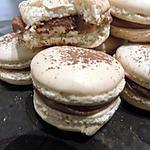 recette Macarons ganache kinder