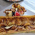 recette TARTE aux pommes confiture de figues