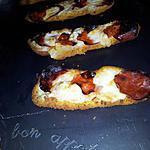 recette Filet de colin panés gratiné au chorizo et mozzarella