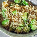 recette Salade de quinoa à l'orange et à l'avocat