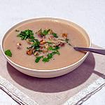 recette Soupe de céleri aux châtaignes et noix