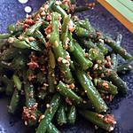 recette Haricot vert au sésame