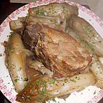 recette Echine de porc confite aux endives