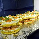 recette Canapés au saumon fumé